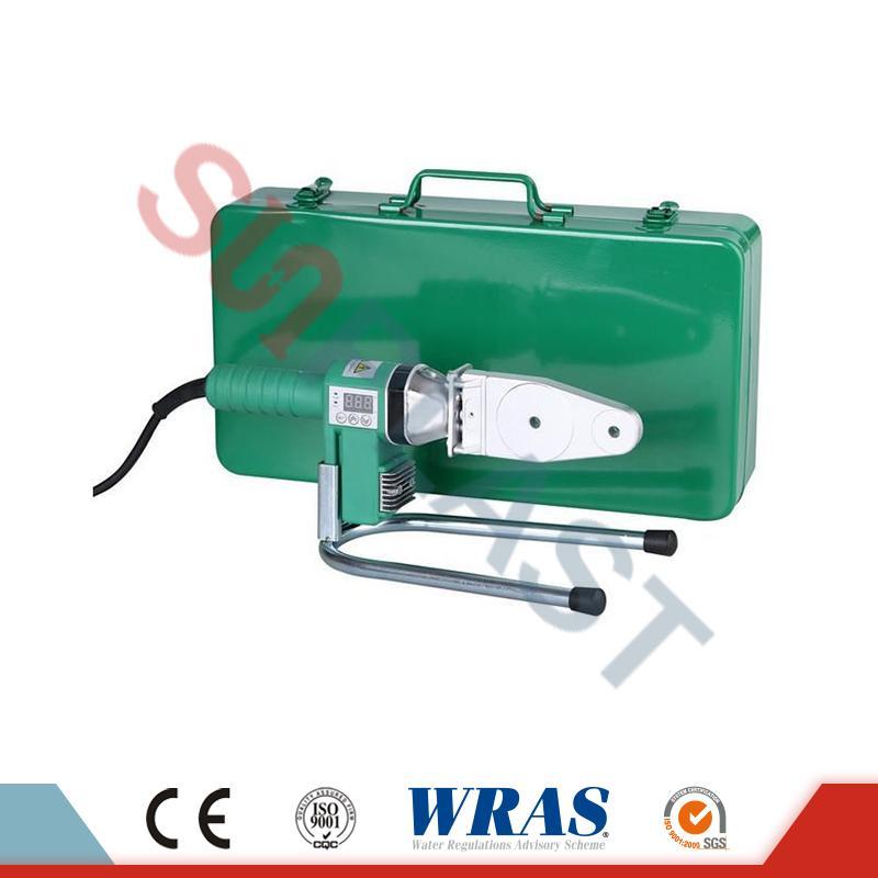 PPR құбыры үшін 20-63 мм Socket Fusion дәнекерлеу машинасы HDPE құбыры