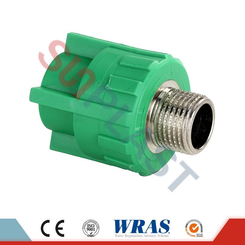 DIN8077 PPR ерлер қосқышы